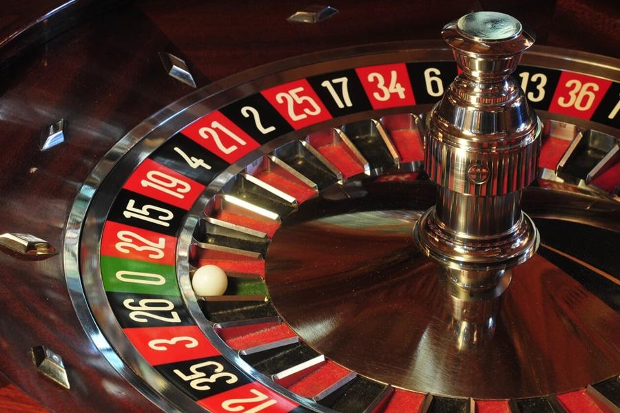 gambling roulette wheel