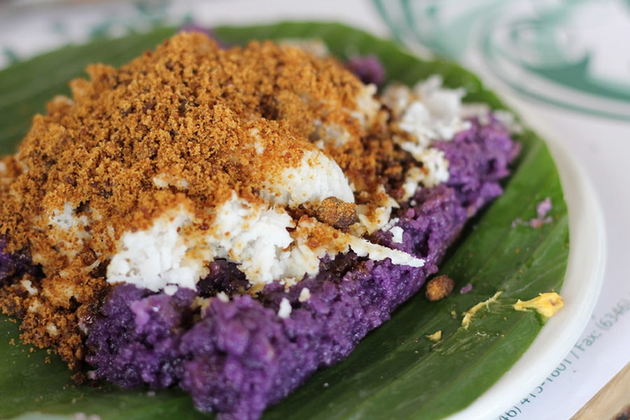 ube purple food manila