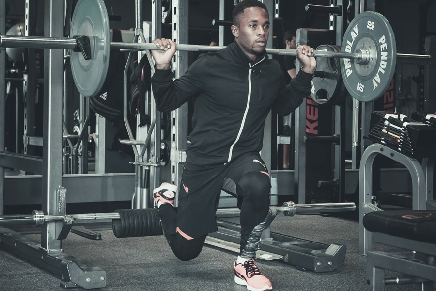 personal trainer solutions lunges workout