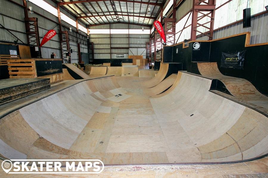 rampfest skatepark indoors