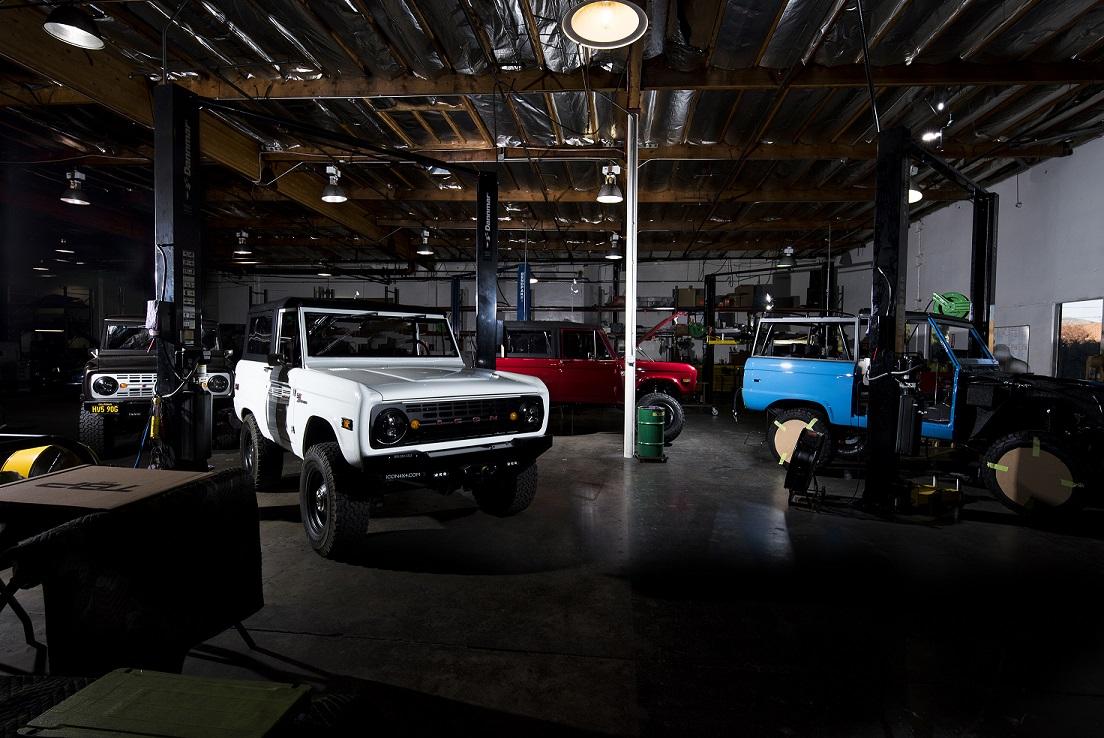 custom ford bronco shop