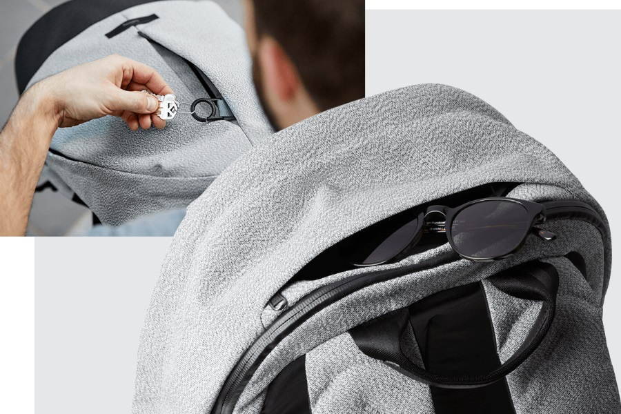 bellroy classic backpack plus hidden pocket