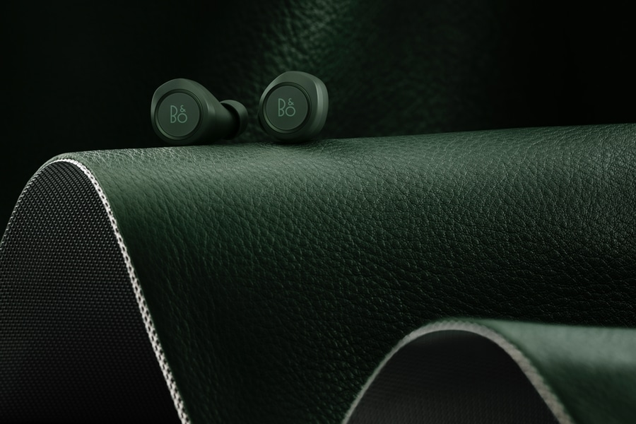 bang and olufsen's beoplay e8 earbuds front