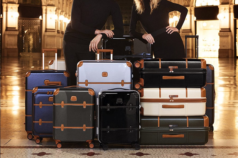 bric's various suitcases and carry-on model collection