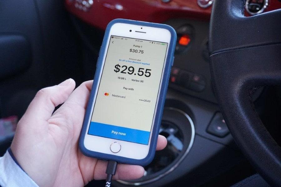 caltex australia app iphone review