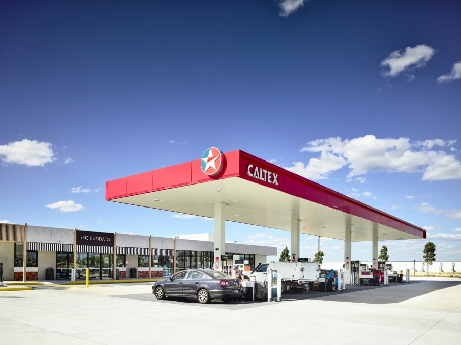 caltex filling station near me