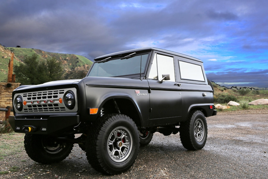 custom ford bronco off road