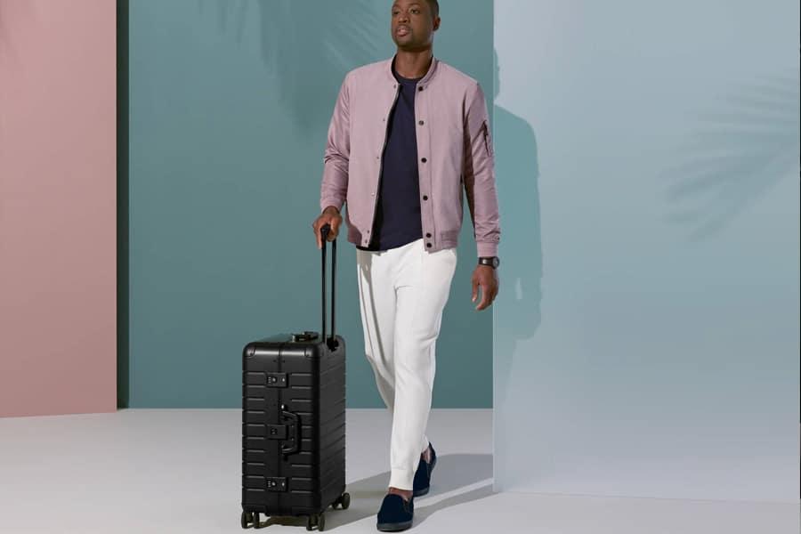 dwayne wade x away aluminum luggage classic style