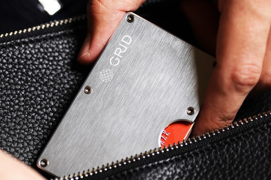 grid wallets are the slimmest and toughest wallets
