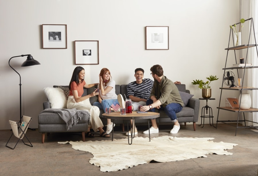 burrow couch best comfortable sofa