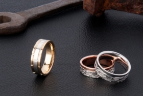 men's wedding ring with kavalri released