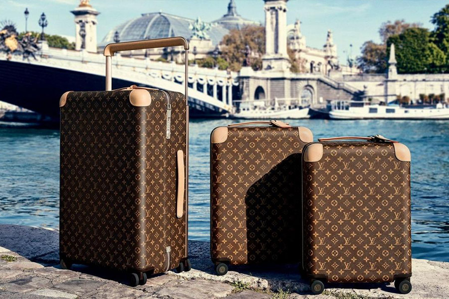 louis vuitton trolley bags and suitcases