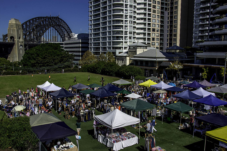 kirribilli art design and fashion markets