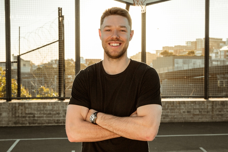 f3955cfb2c9 Interview  On The Court with NBA Star Matthew Dellavedova