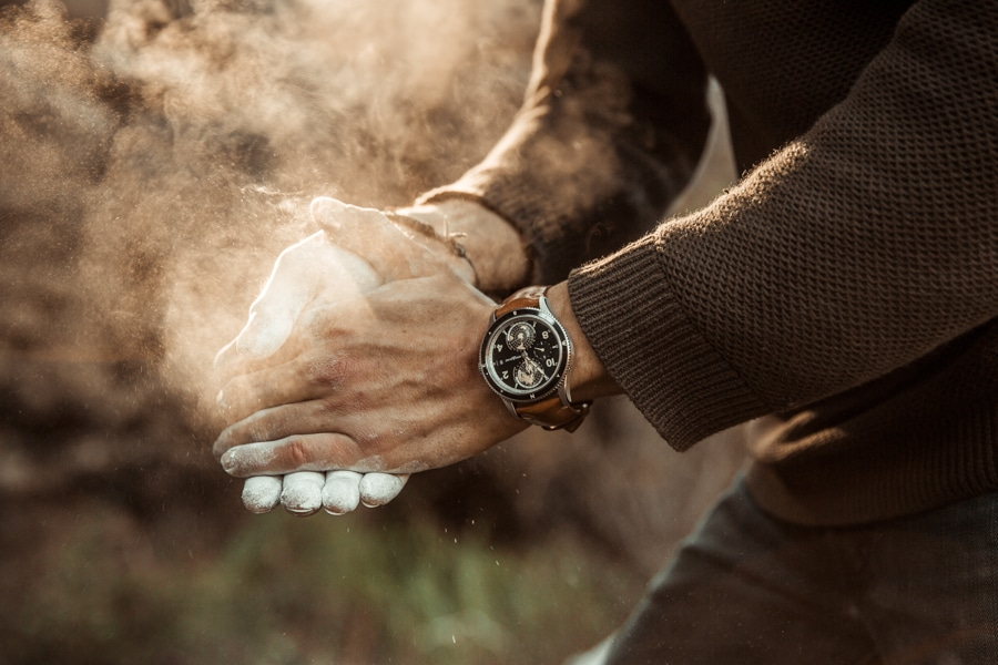 montblanc 1858 playing moment