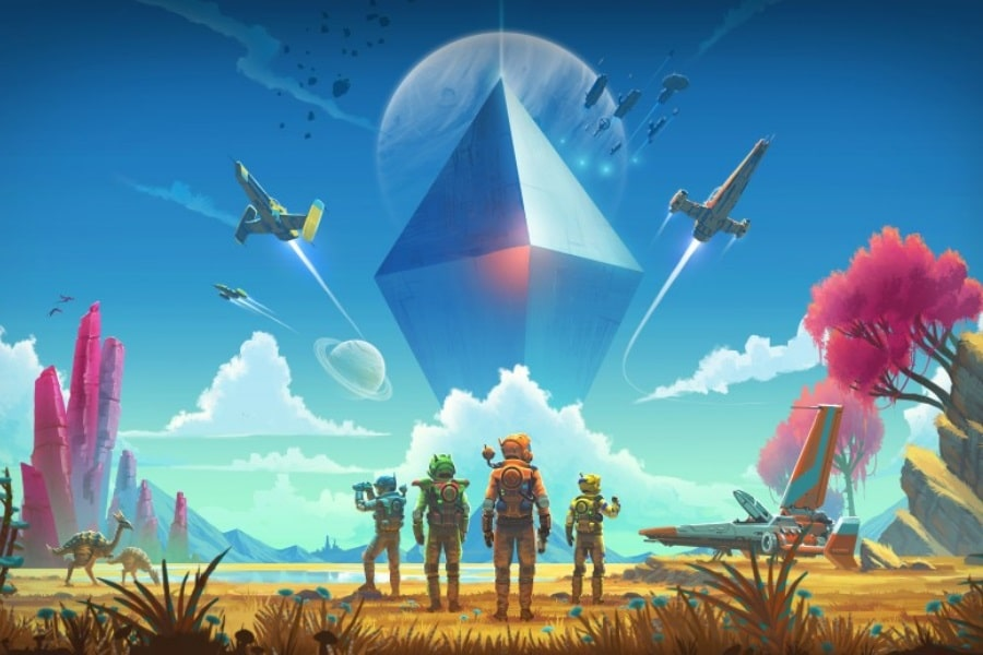 no man sky next cover art
