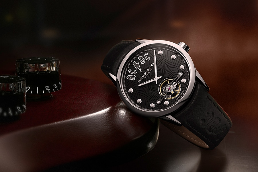 raymond weil watch black