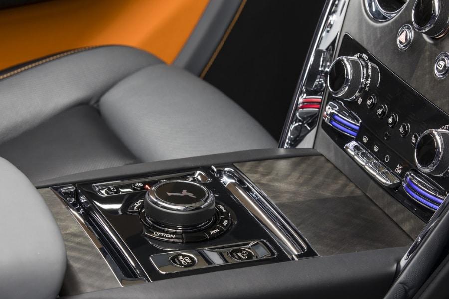 Rolls Royce Cullinan centre stack