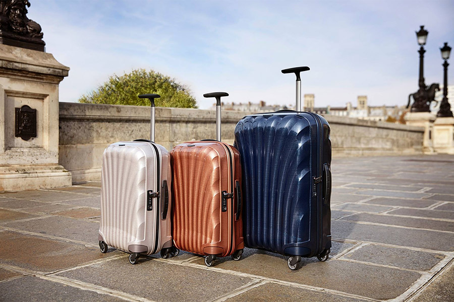samsonite different durable travel bags collection luggage
