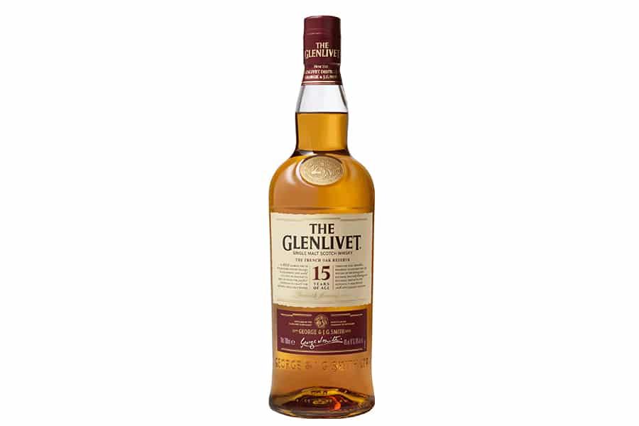 the glenlivet 15 year old bottle