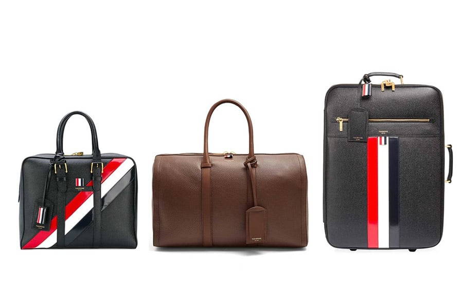 Thom Browne American luxury luggage set