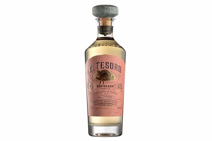 tequila el tesoro reposado