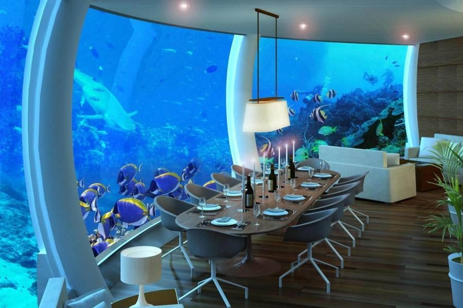 poseidon underwater resort in fiji