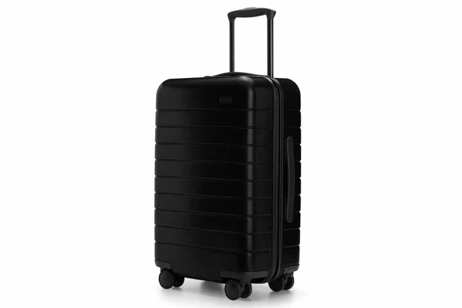 away travel luggage with phone charger carry on