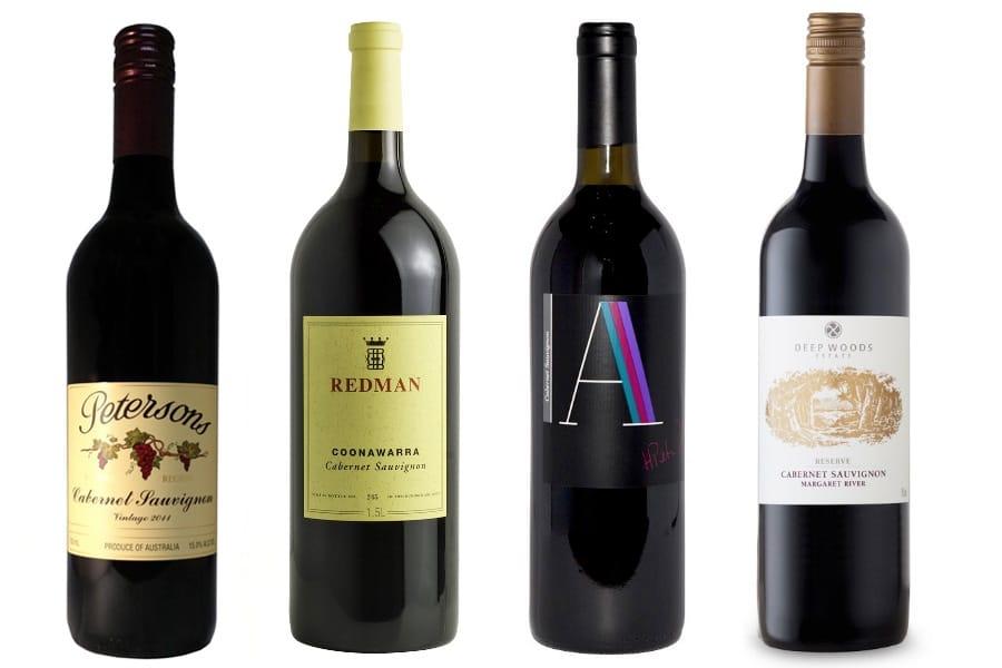 four best australian cabernet sauvignon red wines