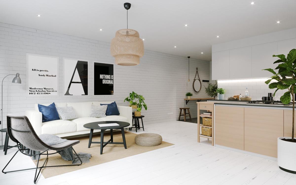 ikea sinnerlig light typography modern living area