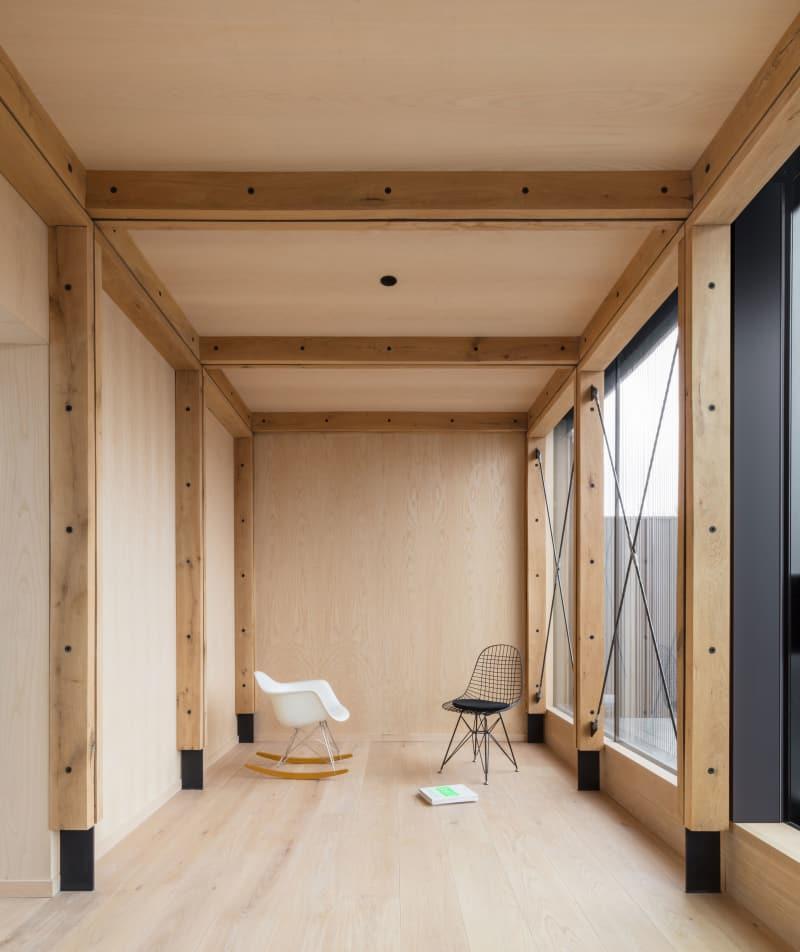 wooden interior architect design