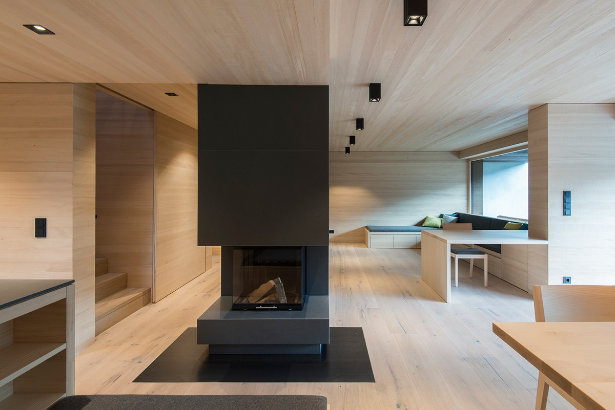 minimalist wood interior design