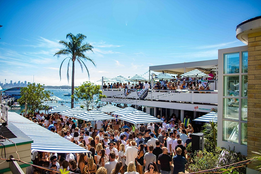 watsons bay boutique exterior packed