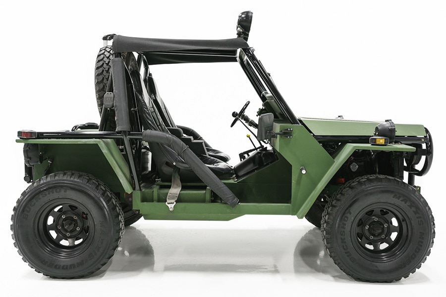 wolverine m151a2 1975 side view