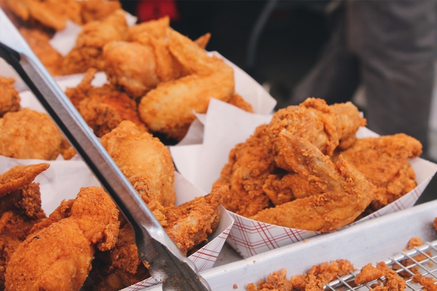 crazy wings fried chicken