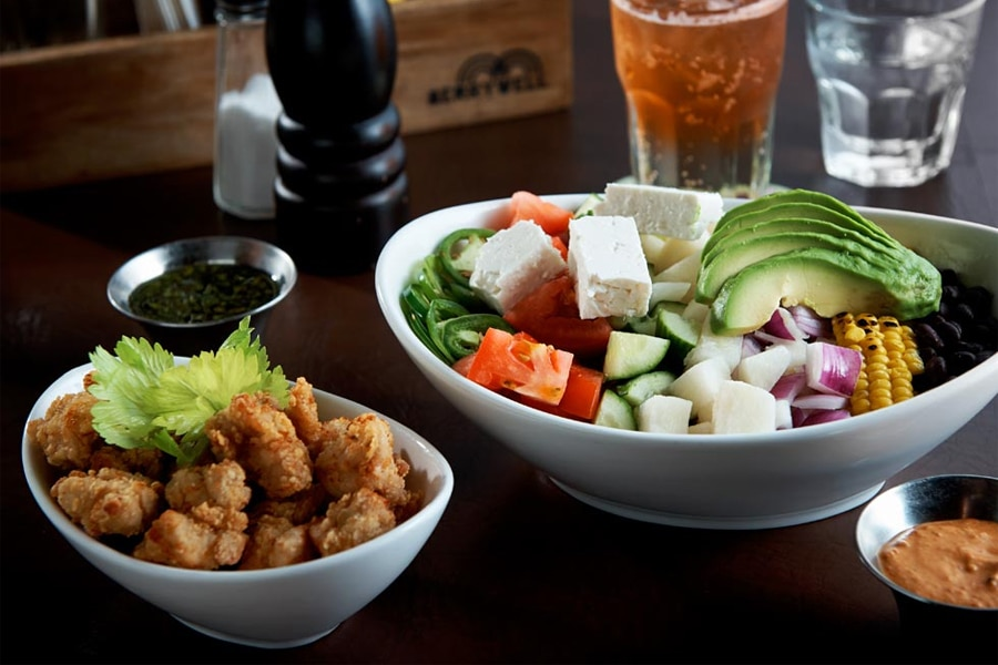 merrywell chicken and salad