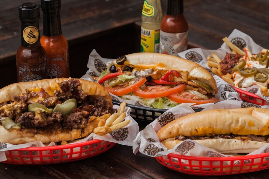 sparrow philly cheesesteaks meal