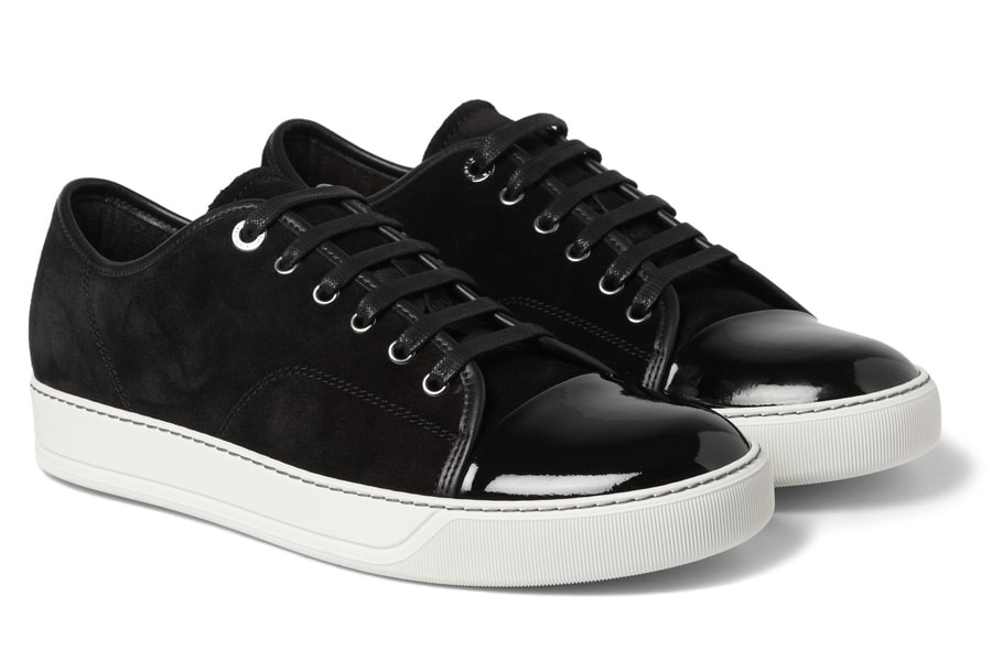 Lanvin Black Men's Fashion Sneakers