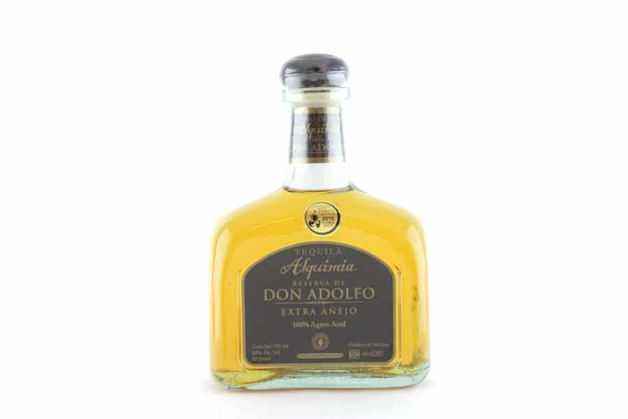 alquimia reserva de don adolfo extra anejo tequilav