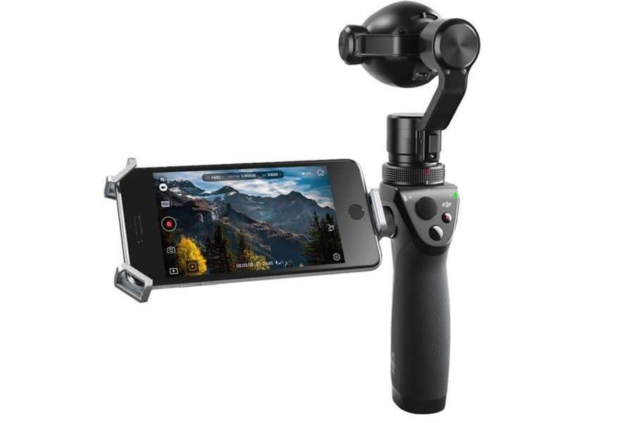 dji osmo handheld stabilized 4k 12mp camera