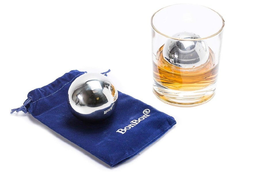 best stainless steel whisky stone view