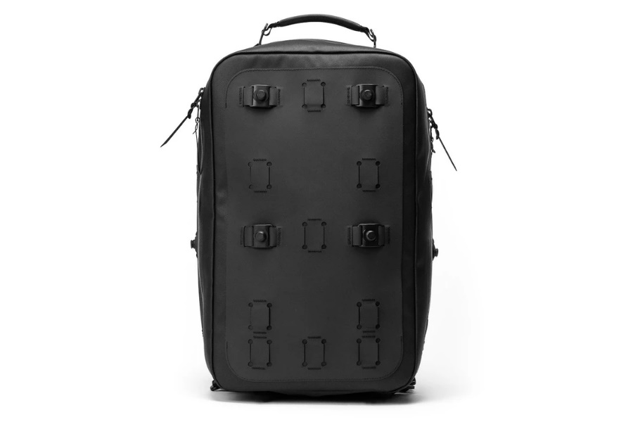 black ember modular backpack