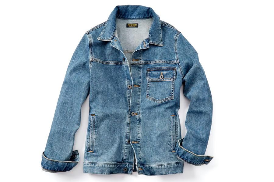 huckberry denim trucker jacket
