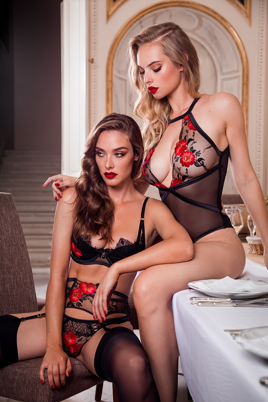 honey birdette two women sitting