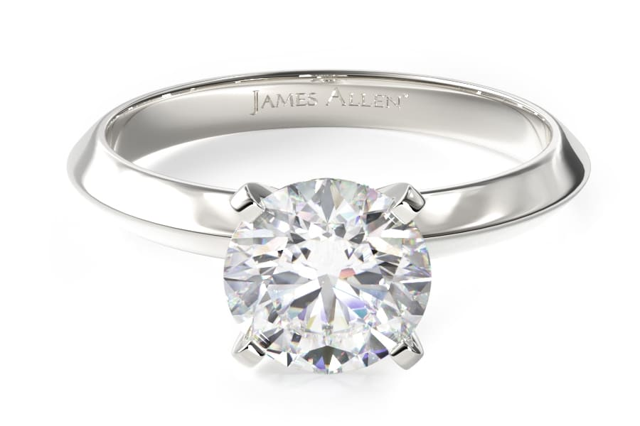 james allen diamond engagement ring silver