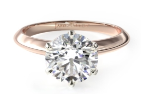 james allen diamond engagement ring