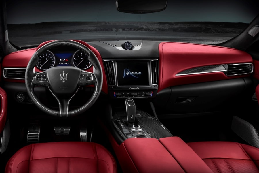 maserati levante gts leather interior