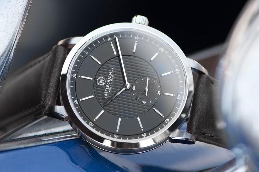 melbourne watch company black watch