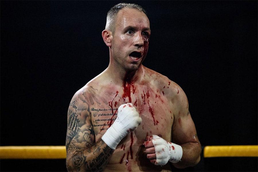 professional boxing injured