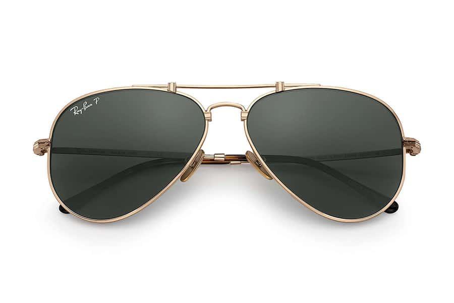 Ray bans green sunglasses